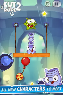 Cut the Rope 2 for iPad and iPhone