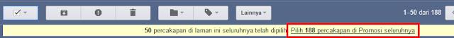 Cara Menghapus Email Gmail Sekaligus