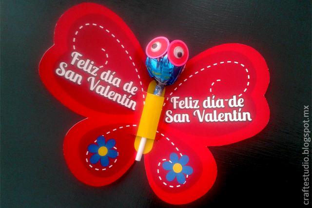 Craft estudio m s ideas para regalar paletas el d a de - Ideas para regalar en san valentin ...