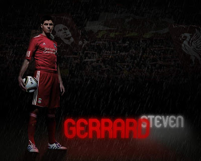 Dark Steven Gerrard Wallpaper