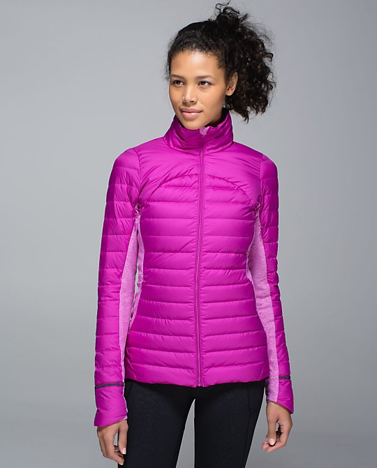lululemon ultra violet fluff off jacket