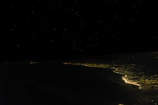 Vol de nuit sur la Mer Noire