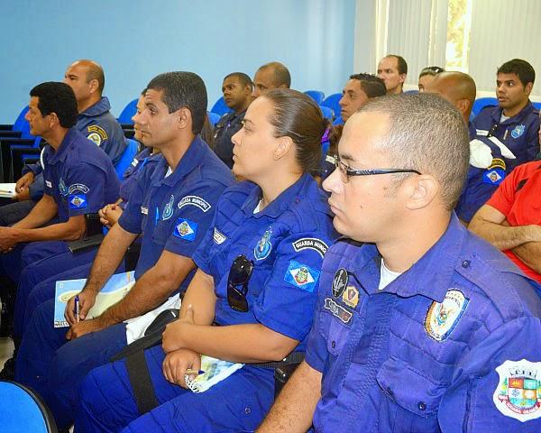 Guarda Municipal se qualifica para a ronda escolar em Cabo Frio
