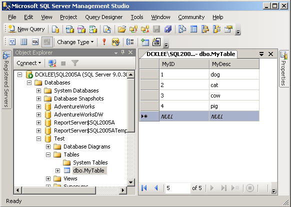 import excel data to sql server