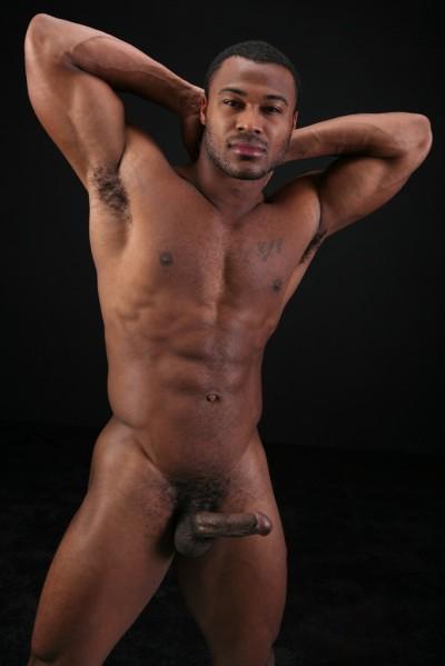 Hot Naked Black Man