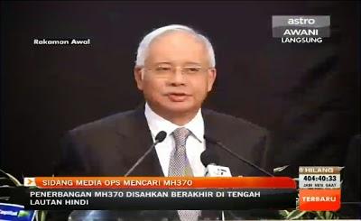 Kenyataan akhbar oleh Perdana Menteri Datuk Seri Najib Tun Razak