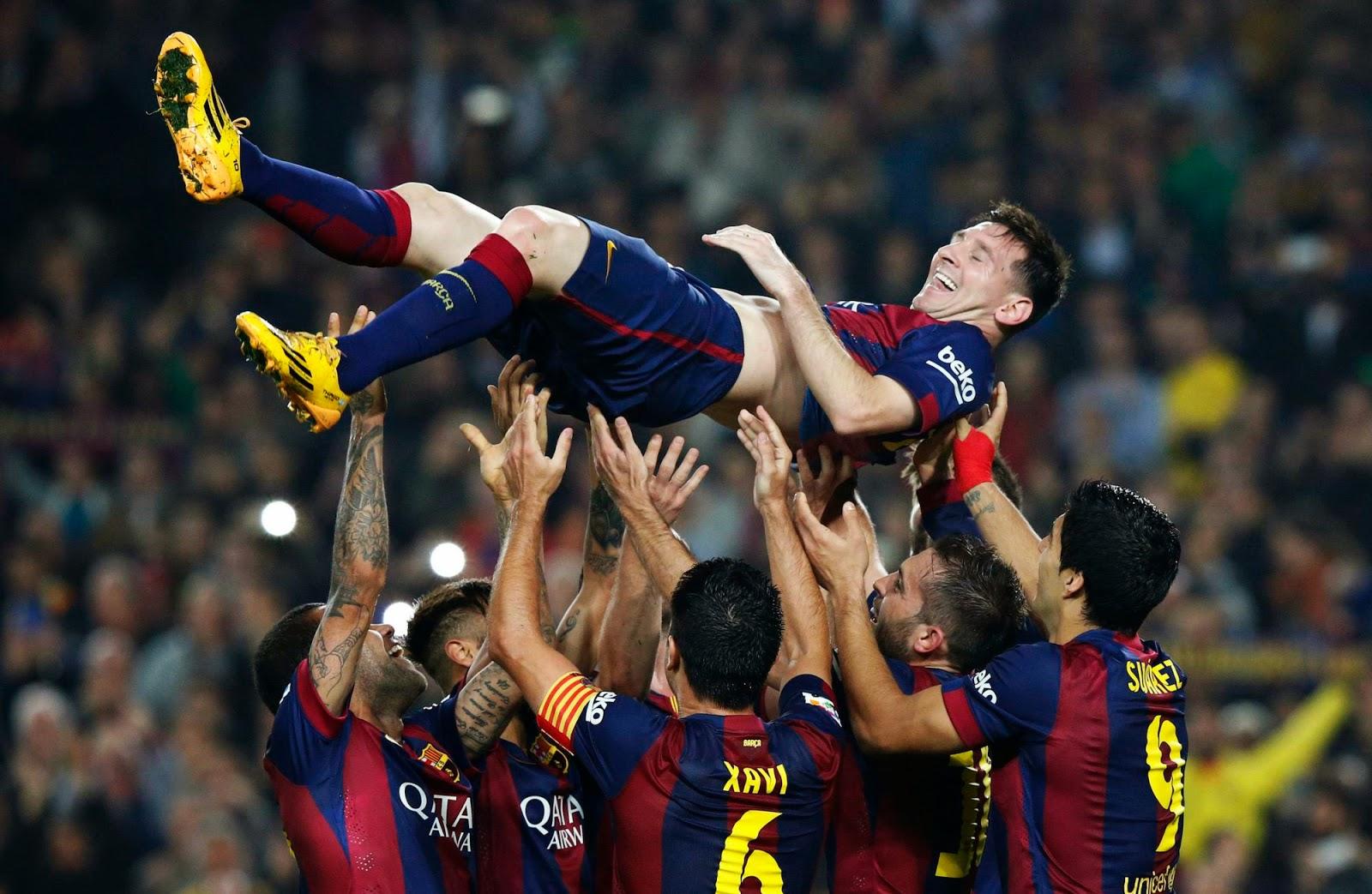 SBOBET - Messi Mendapat Penghargaan Dari LFP