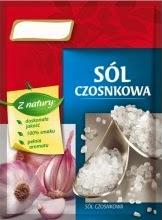 Sól czosnkowa przyprawa do sałatek Mechanik w kuchni