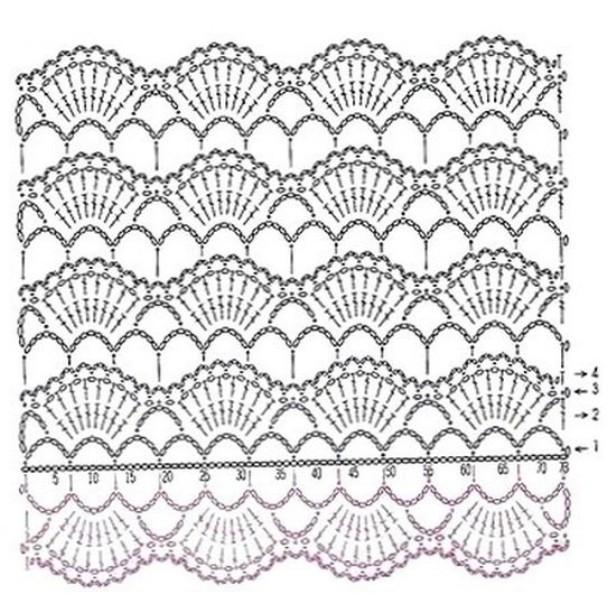 Bufanda con fotos y patrones | Claudia Creaciones en Crochet
