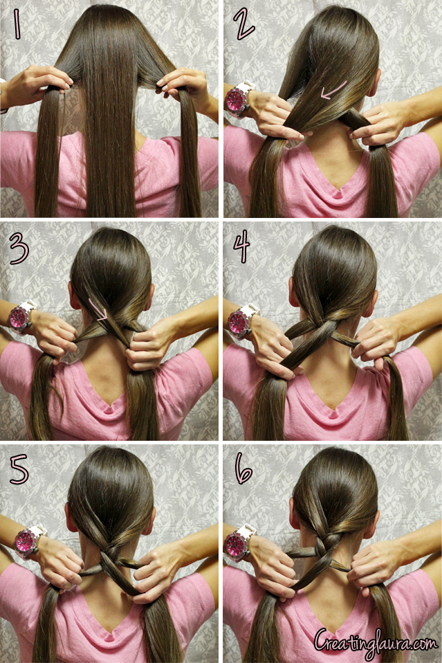 how to french braid own hair - photo #6