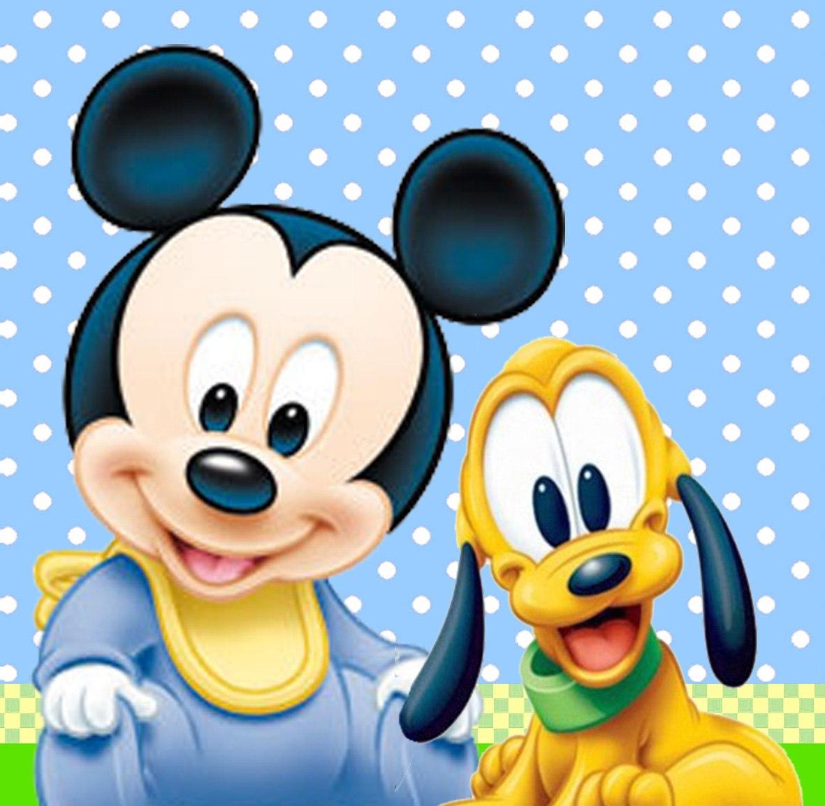 Disney Mickey Mouse bebé - Imagui