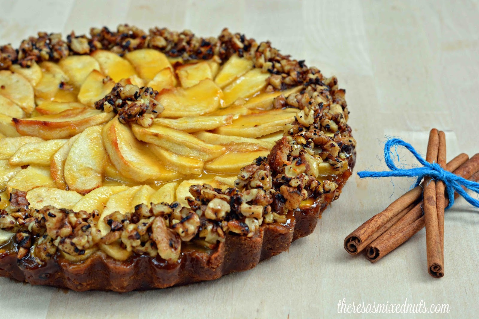 ... Mixed Nuts: Celebrate Labor Day With An Apple & Honey Walnut Tart