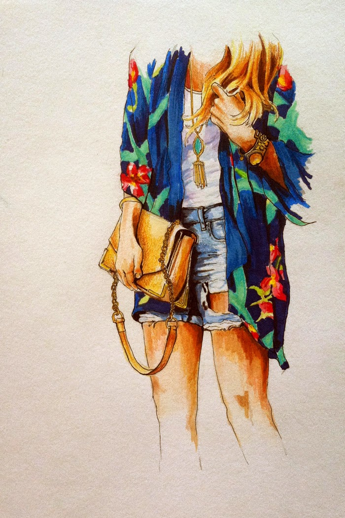 Fashion-Illustration-Floral