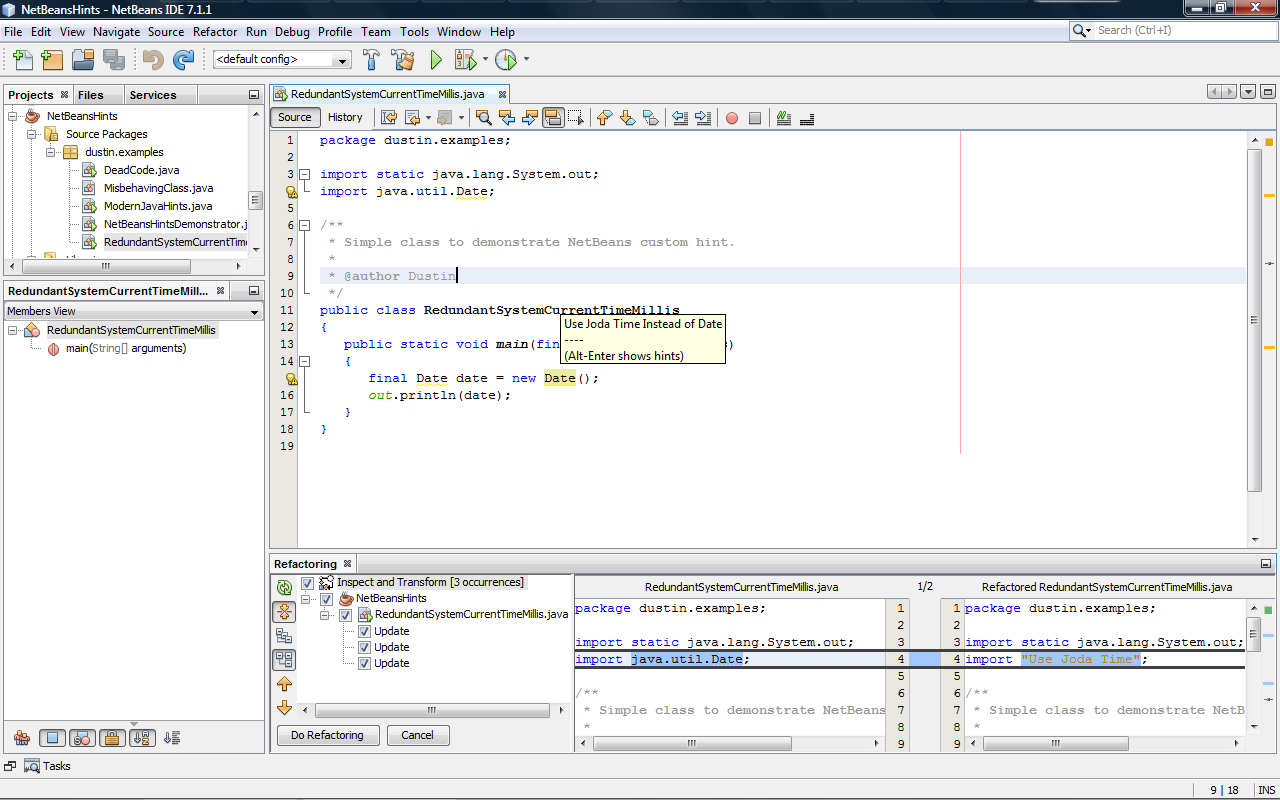 NetBeans Platform 7.1 Quick Start