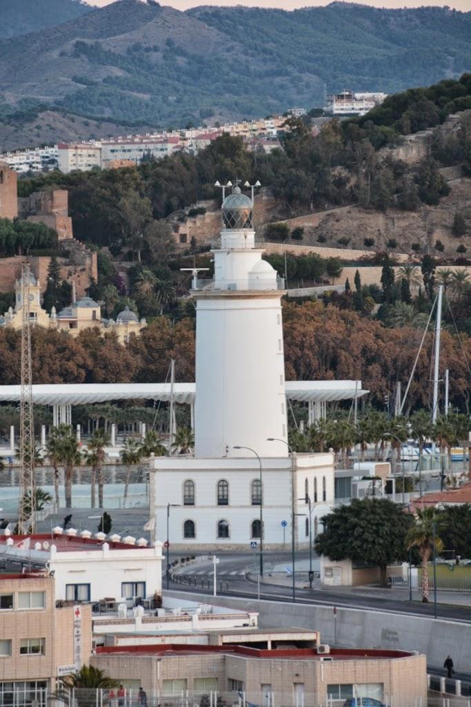 Port of Malaga lighthouse