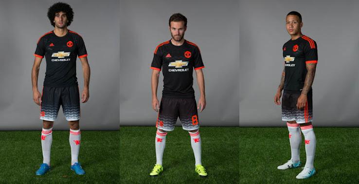 Oficial: Nueva camiseta alternativa adidas del Manchester United