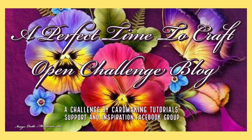 A Perfect Time to Craft Open Challenge Blog