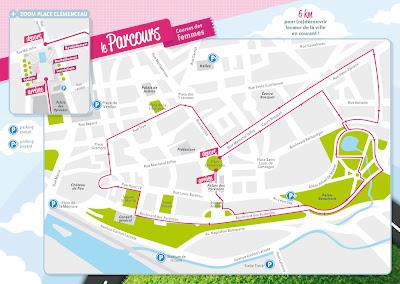 parcours Féminine de Pau 2012