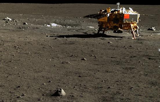 Gambar Sebenar Pemukaan Bulan Dipamerkan China Buat Pertama Kali