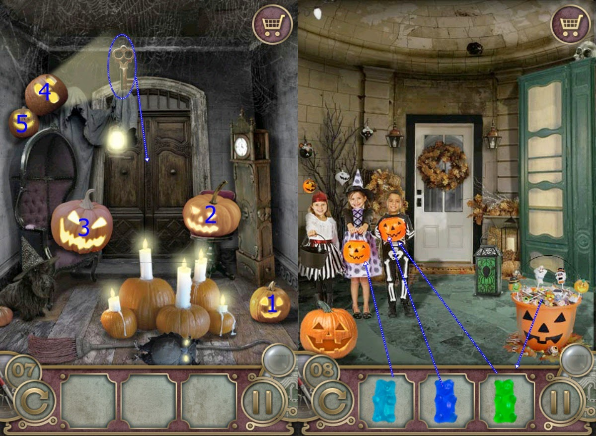 Curse breakers halloween horror mansion walkthrough solution - Escape The Mansion Halloween Level 6 7 8 9 10