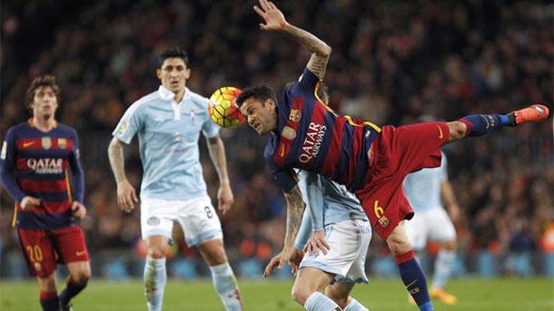 Alves desvela que el tridente ya tenía preparado el penalti