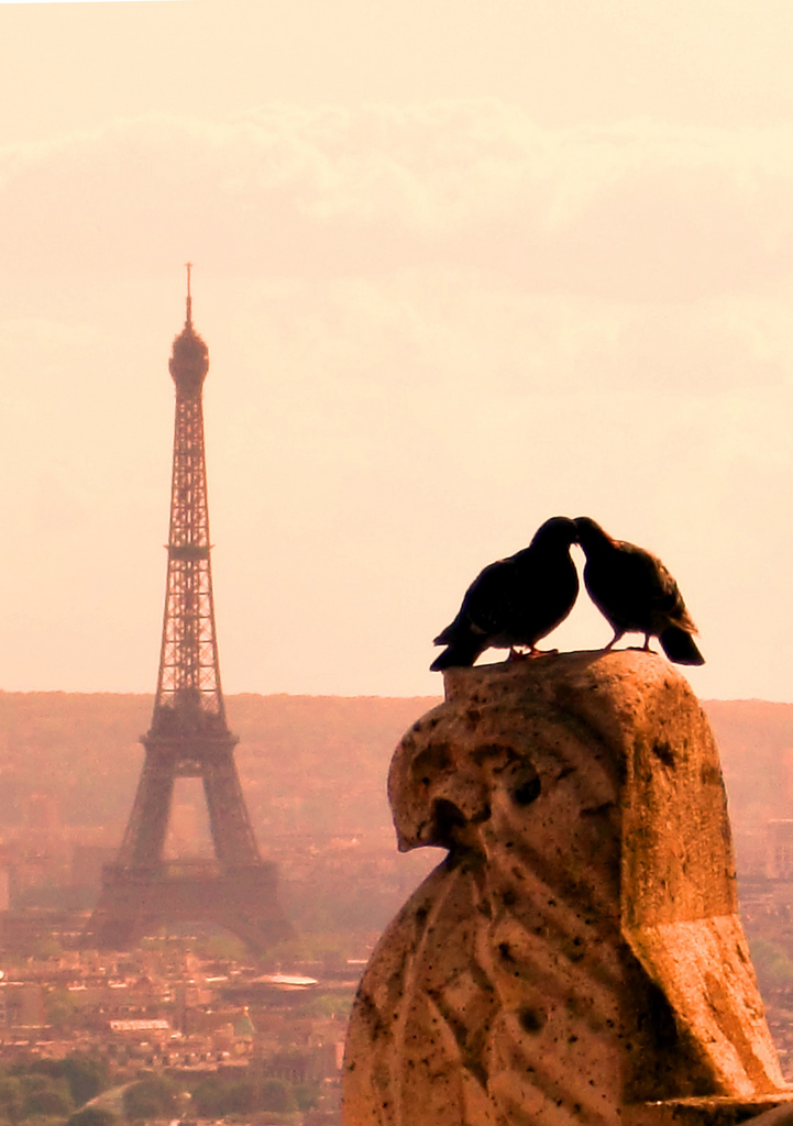 Romantic Paris.