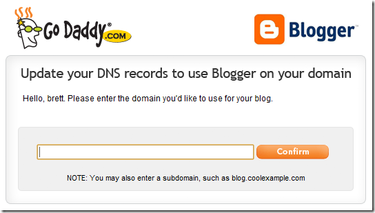 Godaddy DNS Records Update Tool