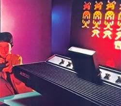 Propaganda do vídeo game Atari em 1978. Modelo 2600.