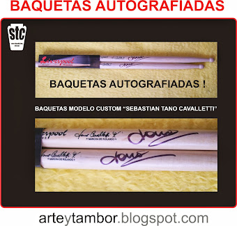 BAQUETAS AUTOGRAF STC CUSTOM MODEL