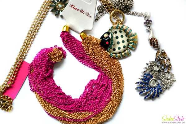 Fashion Jewellery haul 2014!