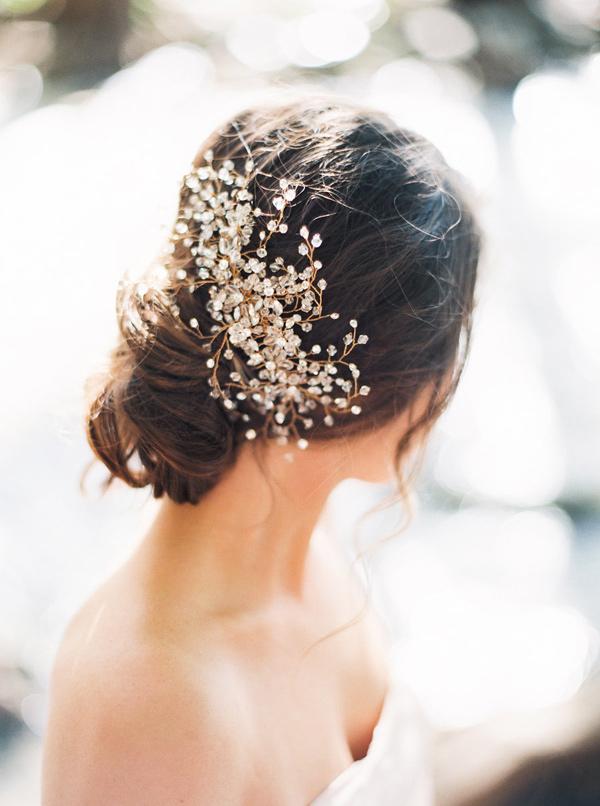 Svatby Barvy Kolaze Ozdoby Do Vlasu Bride La Boheme