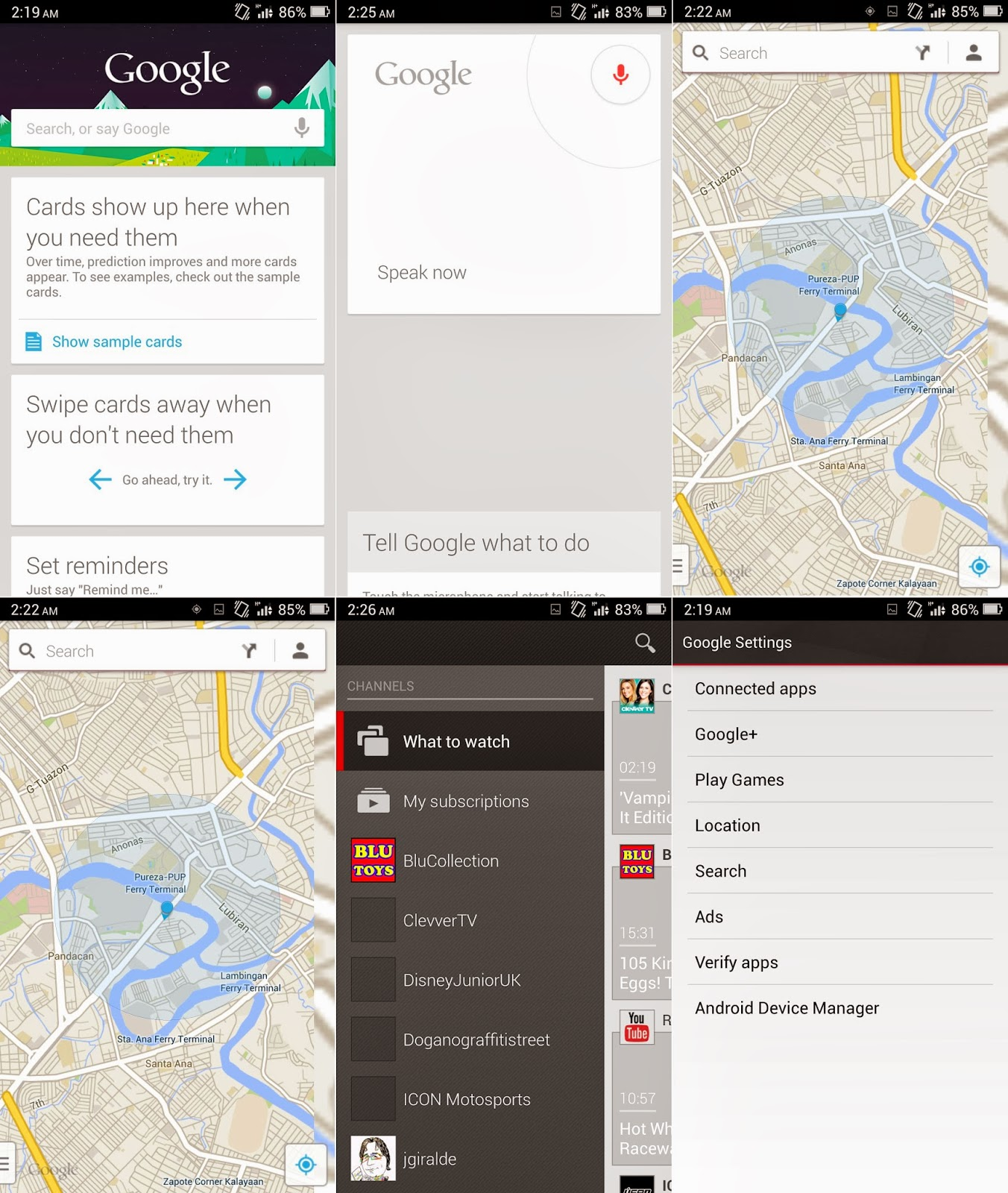 O+ USA Imagine Google Apps