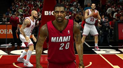 NBA 2K14 Greg Oden Cyberface Patch (HD)