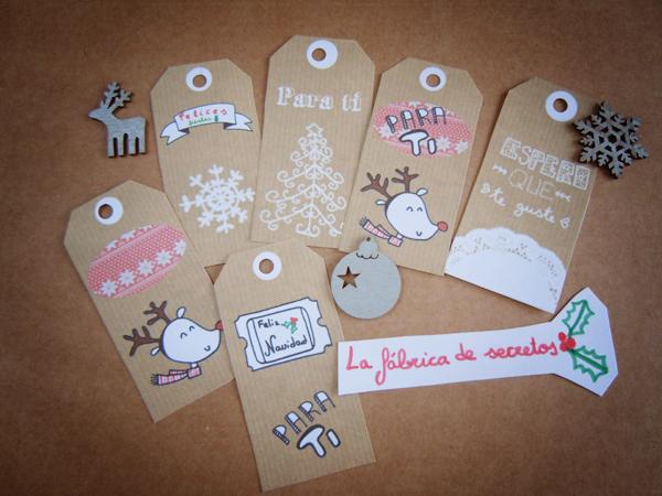 etiquetas para los regalos