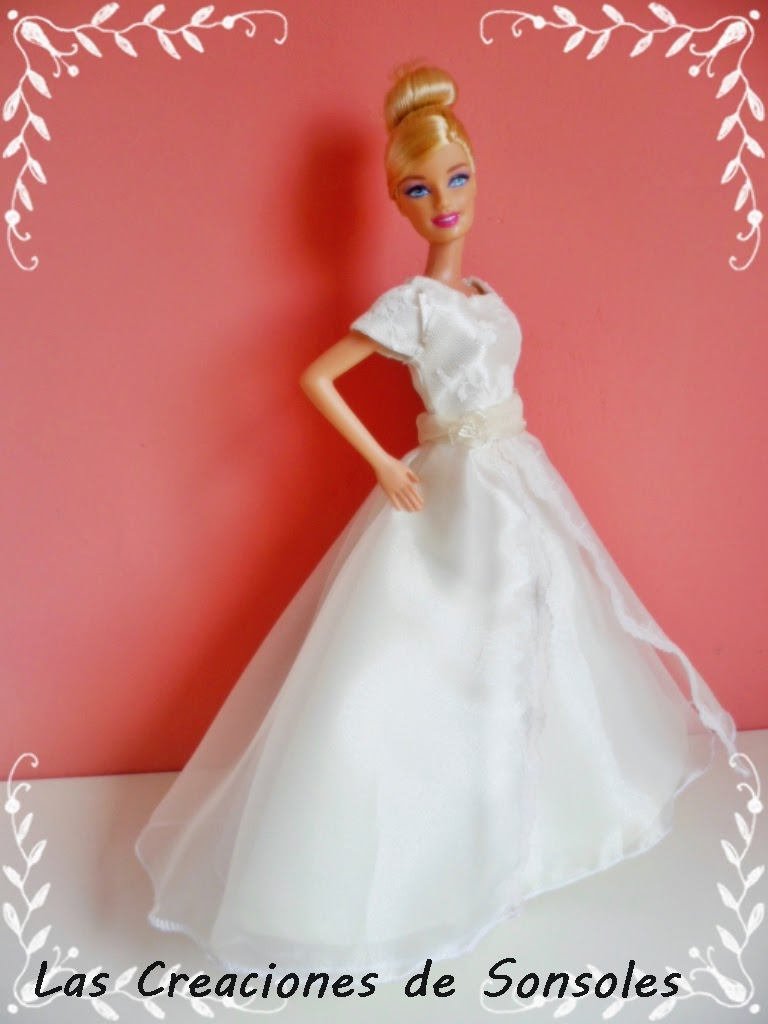 Las creaciones de Sonsoles: Especial Barbies Novias