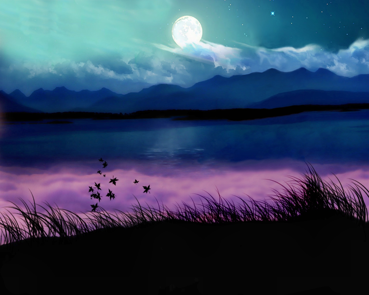 pretty moon wallpapers - photo #23