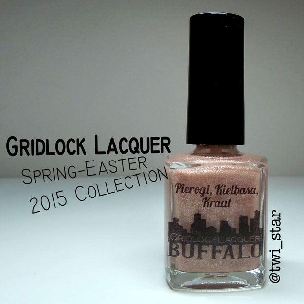 Gridlock Lacquer Spring Easter 2015 Collection Pierogi Kielbasa Kraut
