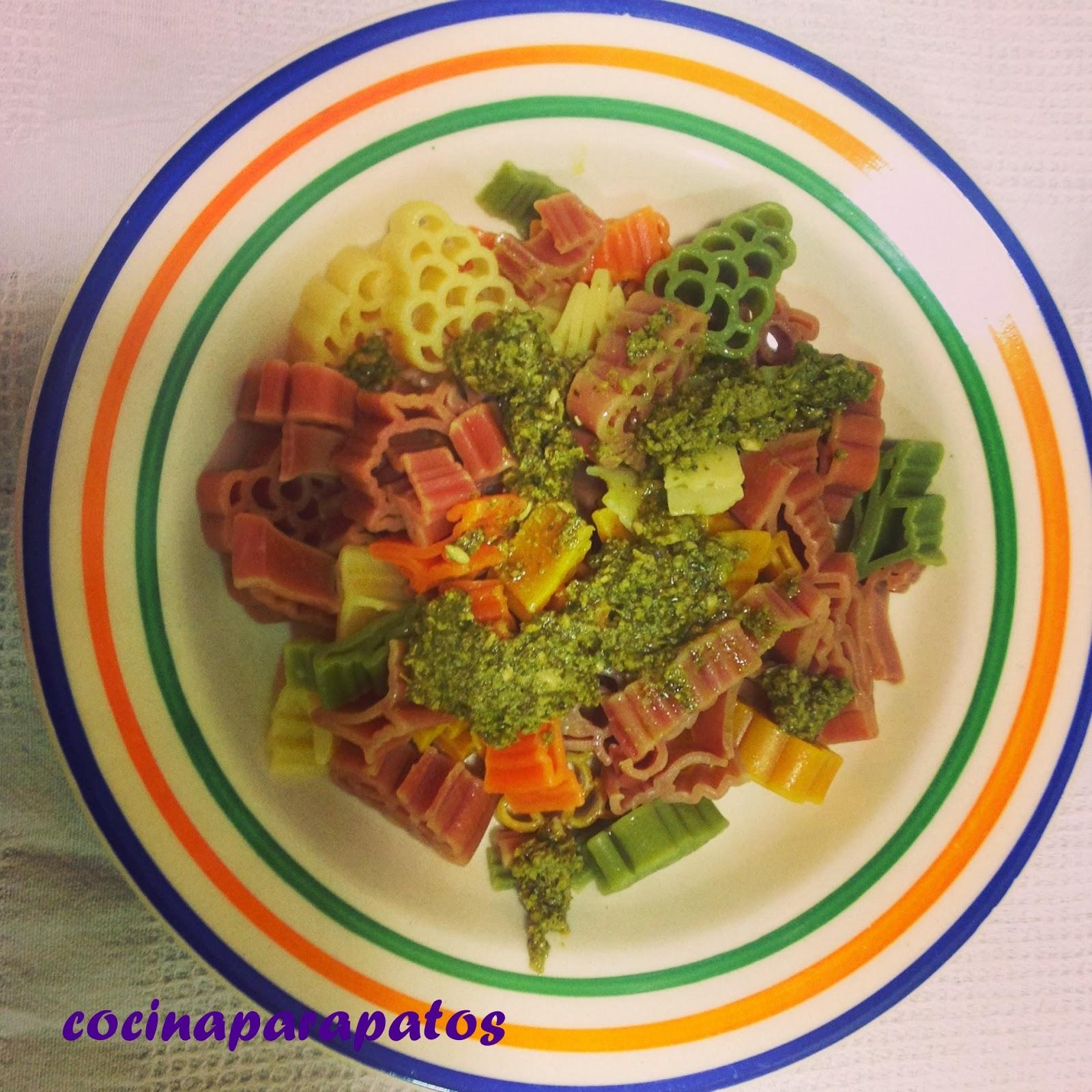 Cocina para patos pasta con salsa pesto - Como se hace la salsa pesto para pasta ...