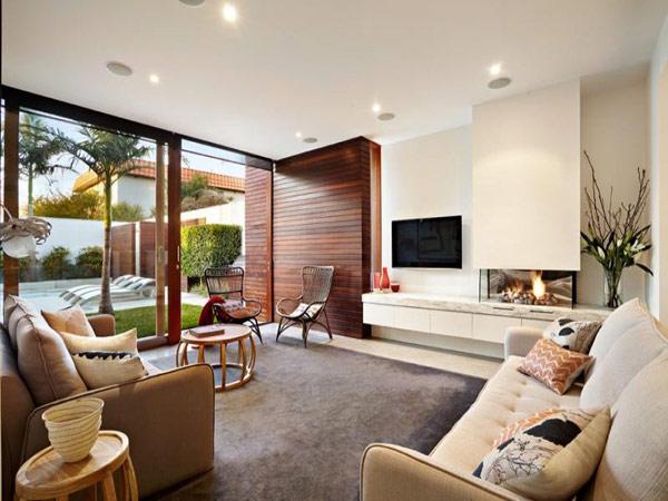 Hogares Frescos Moderna Casa En Australia Viendo Dise 241 O