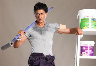 Shah Rukh Khan in ad