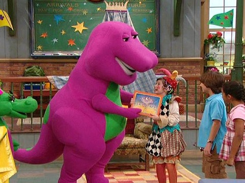 Barney Once Upon A Fairy Tale