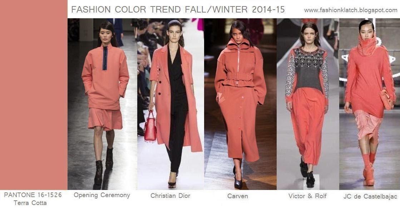 FASHION KLATCH: Fashion Color Trend Fall/Winter 2014-15 ...