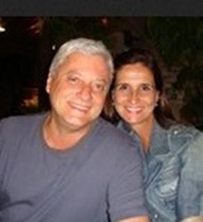 Walter e esposa Denize