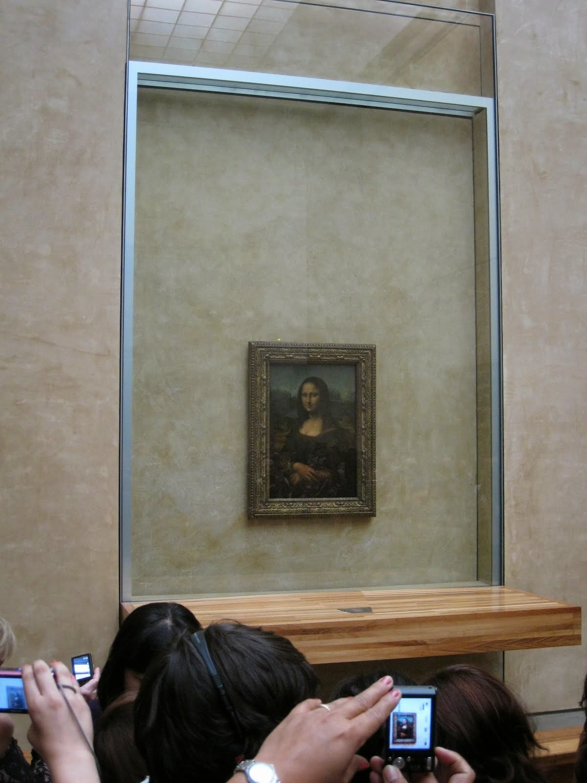 at 'Louvre, Paris'