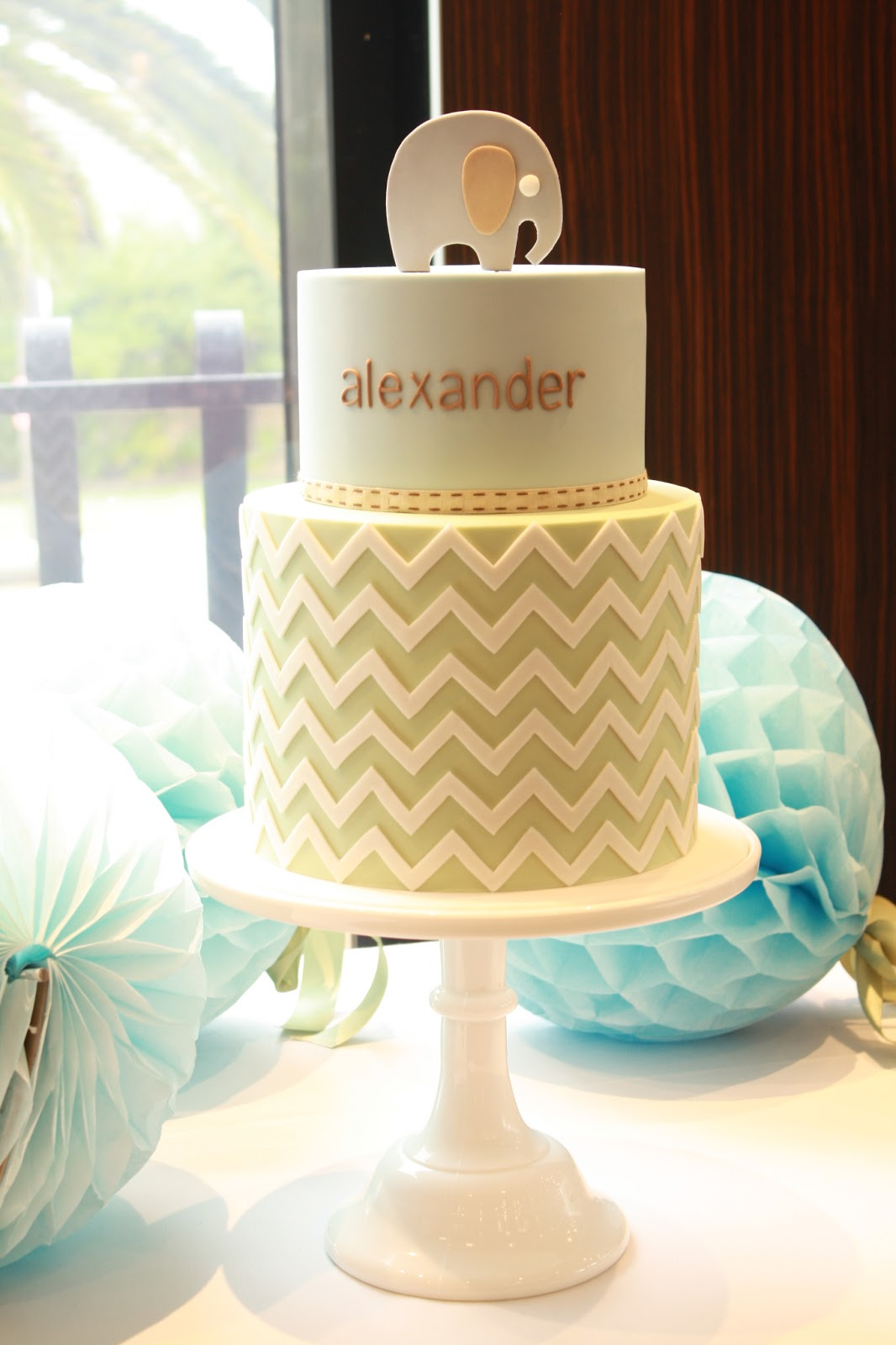 alexander s christening cake a custom designed cake made to match his ...