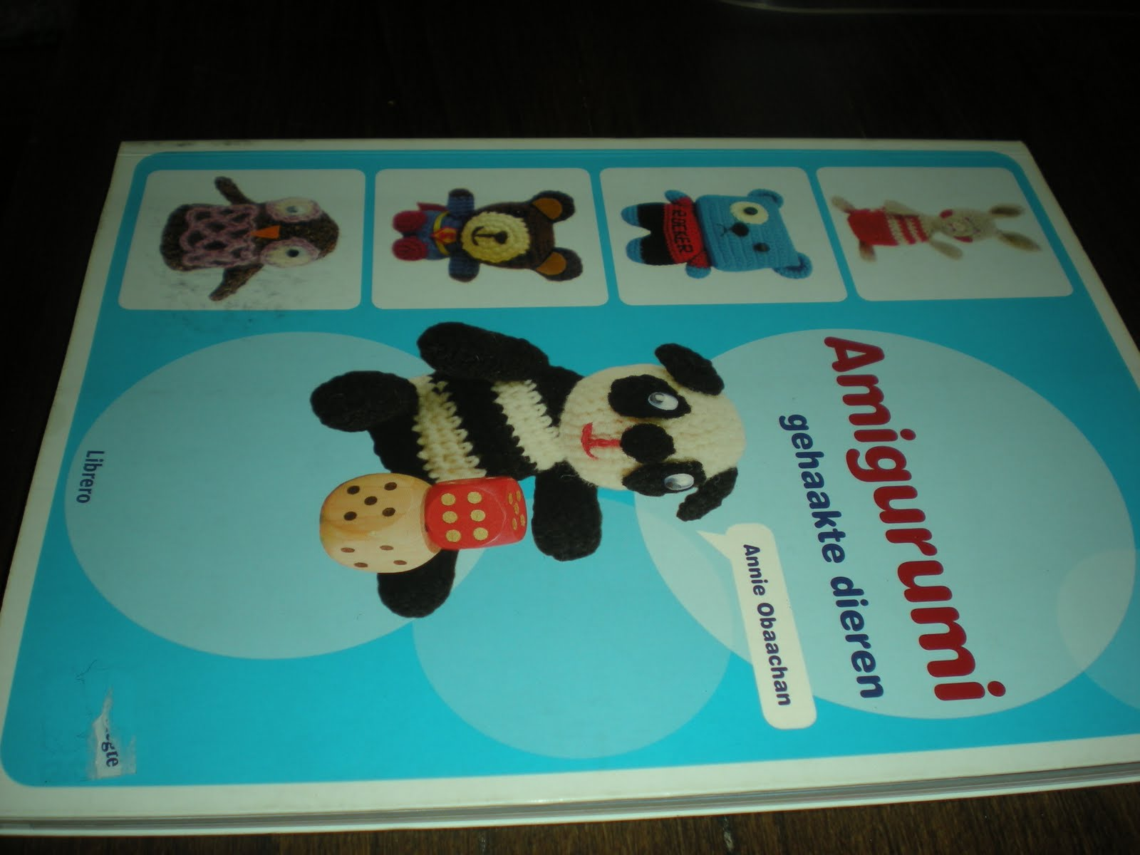 Amigurumi Animals Annie Obaachan : Haken - inspiraties en creaties: Te Koop: boek Amigurumi ...