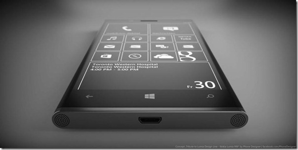 Nokia Lumia 999 Design Concept Black Beauty Phone