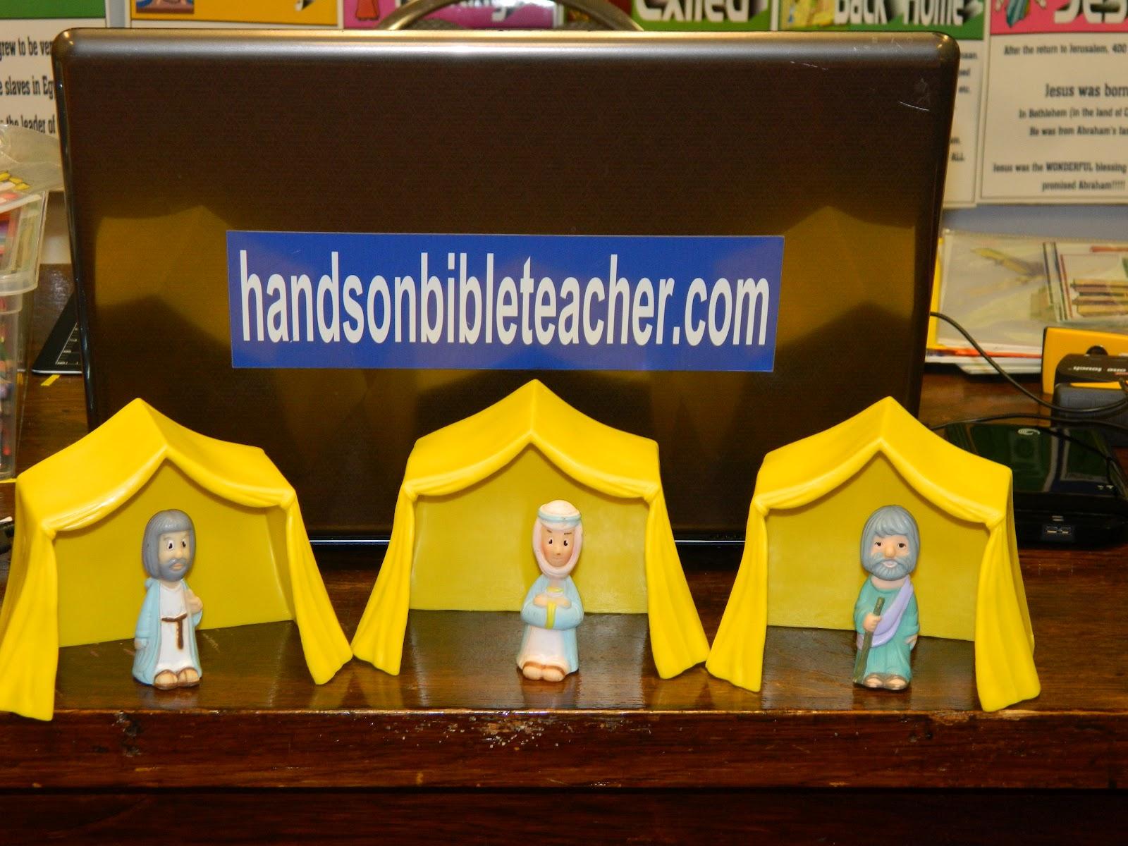 hands on bible teacher may 2012