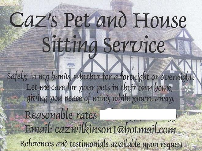 Caz's Pet and House Sitting Service