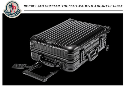 RIMOWA TOPAS STEALTH BY MONCLER